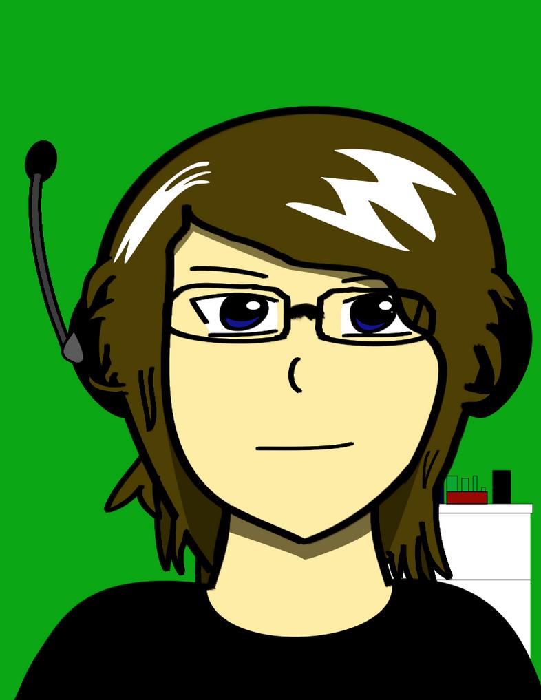 Self-portrait by ajkcool