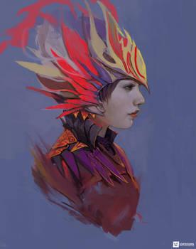 Phoenix   Portrait Paintings