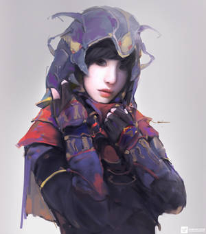 Priestess | Portrait Paintings