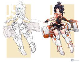 G09   OC Design #anime