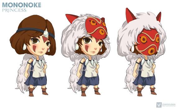 Mononoke Princess | CHIBI #ghibli