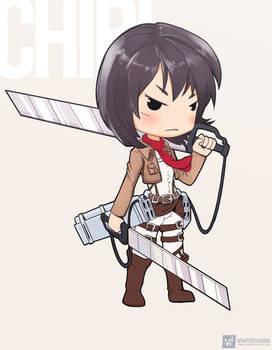 Mikasa   CHIBI #anime