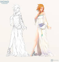 Leah #2 | Character Design #anime
