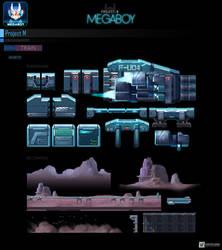 Map Train #2   GameArt #megaboy