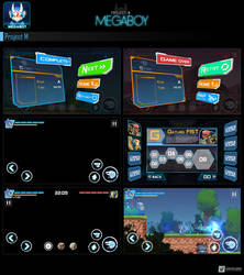 Megaboy UI/UX Design #2   GameArt #megaboy