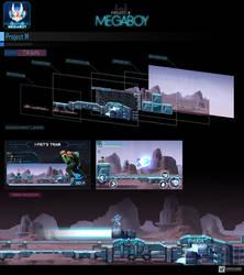 Map Train #1   GameArt #megaboy