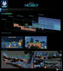 Map Forest #1   GameArt #megaboy