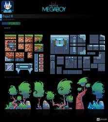 Map forest #2   GameArt #megaboy
