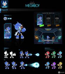 M01 concept   GameArt #megaboy