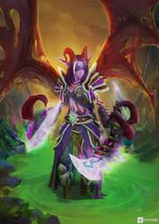Demon Hunter   WoW fanart
