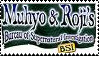 Muhyo and Roji Stamp by ILoveRhun