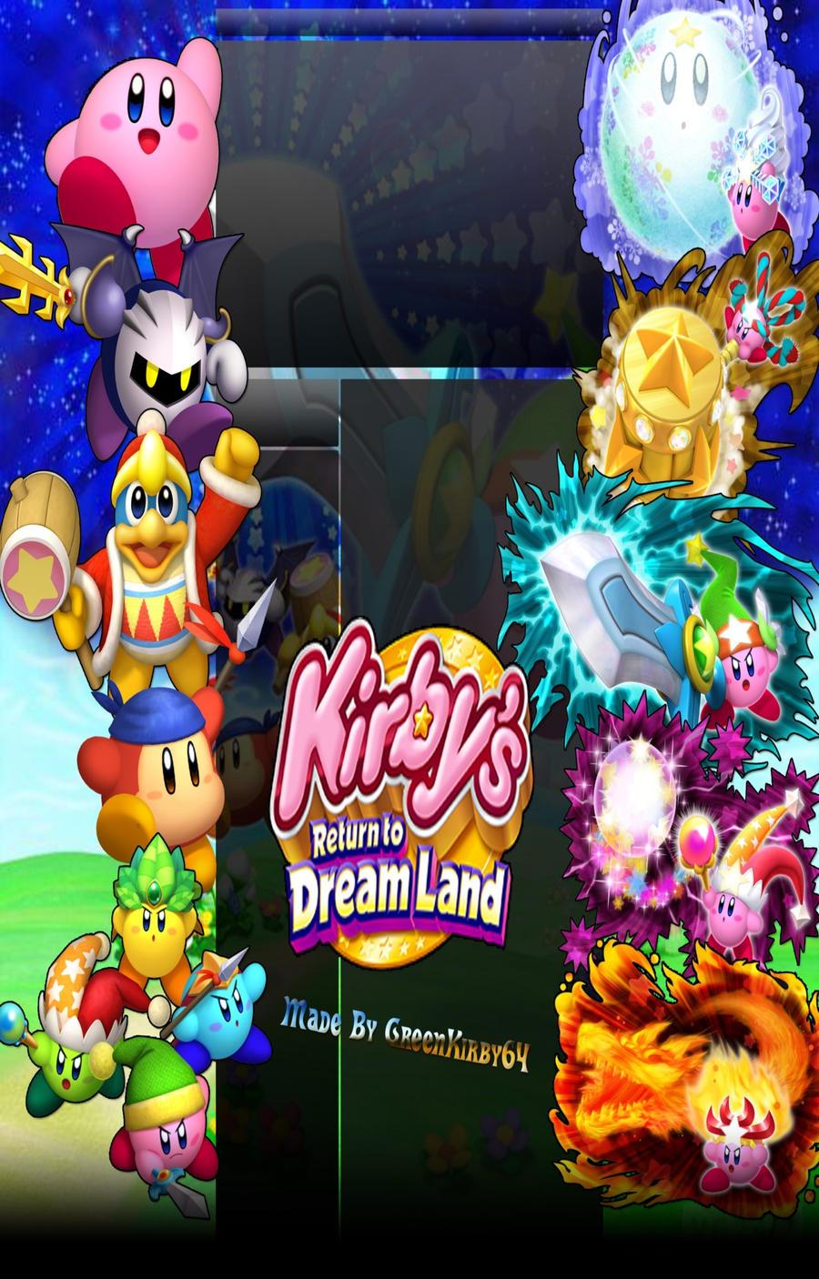 Kirby's Return To Dreamland BG by GreenHavocKirby on ...