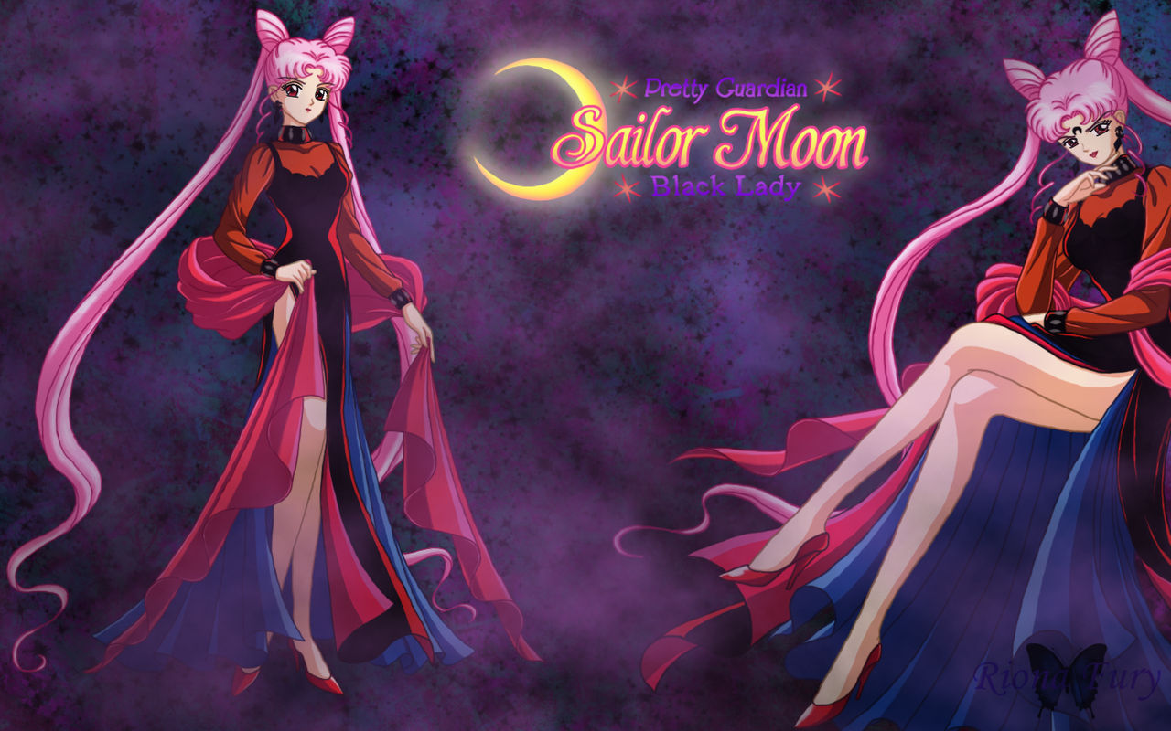 Sailormoon Black Lady By Rionafury On Deviantart