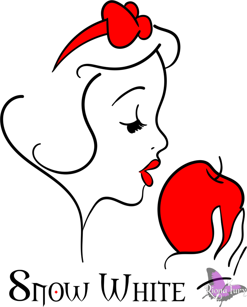Snow White apple by rionafury on DeviantArt