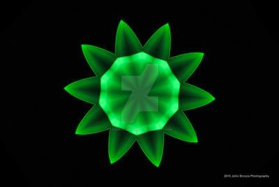 The Green flower Kaleidescope