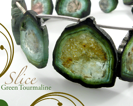 Green Tourmaline by BeadsofCambay