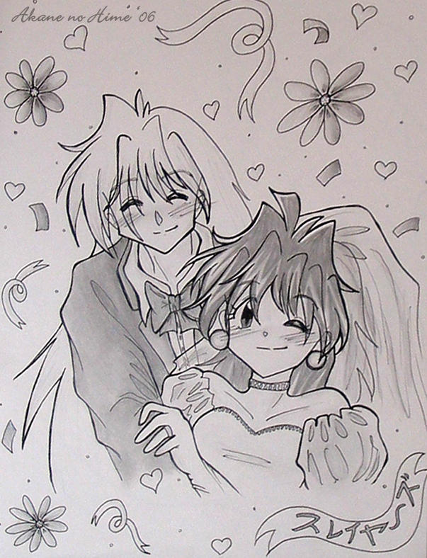 L + G Wedding by akane-no-Hime