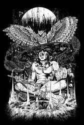 Spirit Owl by qetza