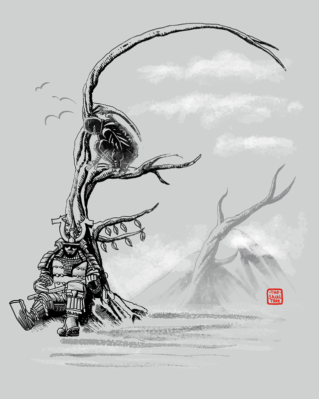 Skull Tree by qetza
