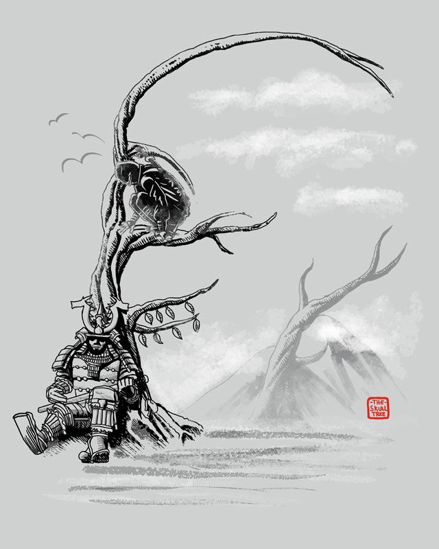 Skull Tree by qetza