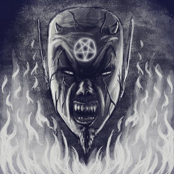 Drawlloween2014 Day 20 Devil by qetza