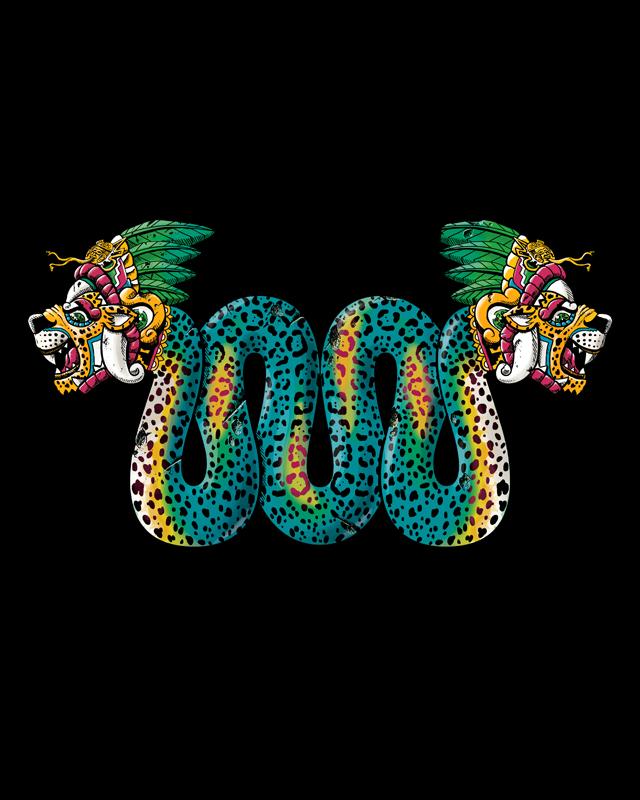 Jaguar Serpent by qetza