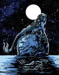 Mermaid Skull