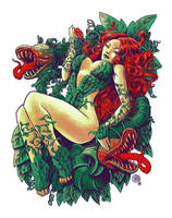 Poison Ivy by qetza