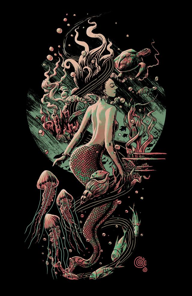 Mermaid by qetza