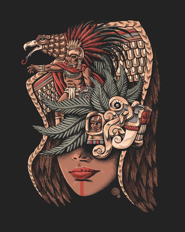 Aztec Eagle Warrior by qetza on DeviantArt