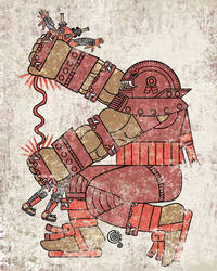 Aztec Juggernaut by qetza