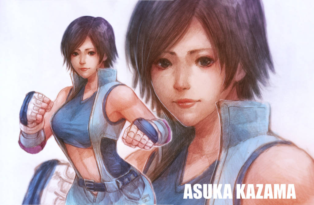 Asuka Kazama Wallpaper by cirenk