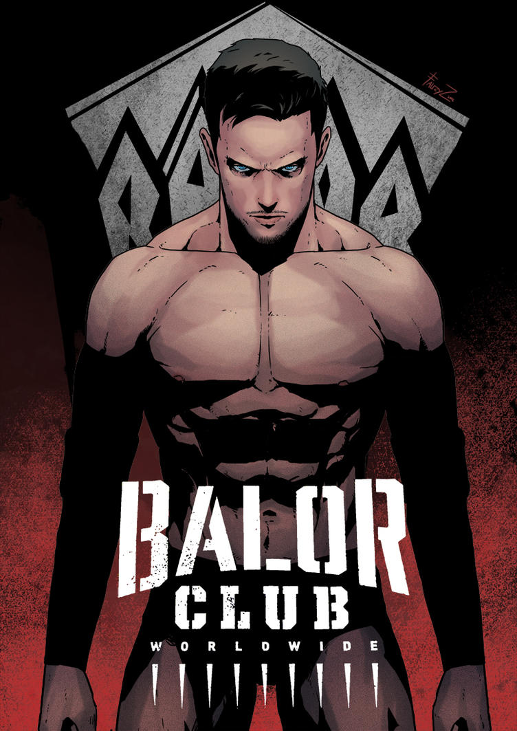 Finn Balor by cirenk