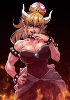 Bowsette by cirenk