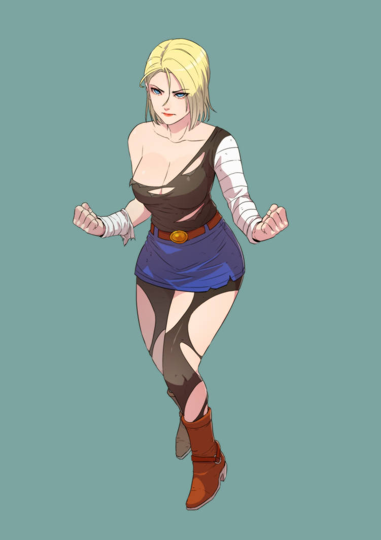 Android 18 by cirenk