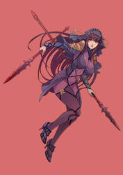 scathach by cirenk