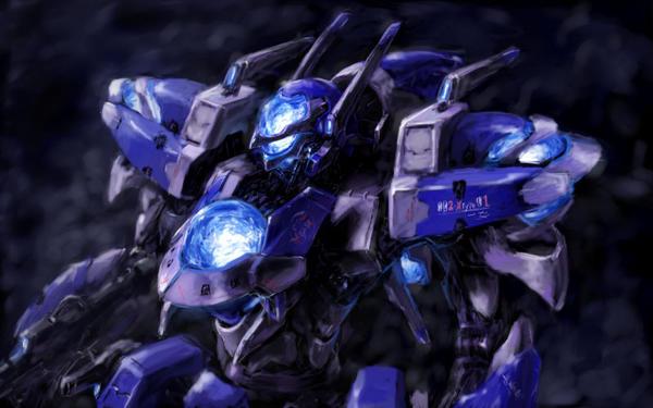 Blue machine by yutori-custom