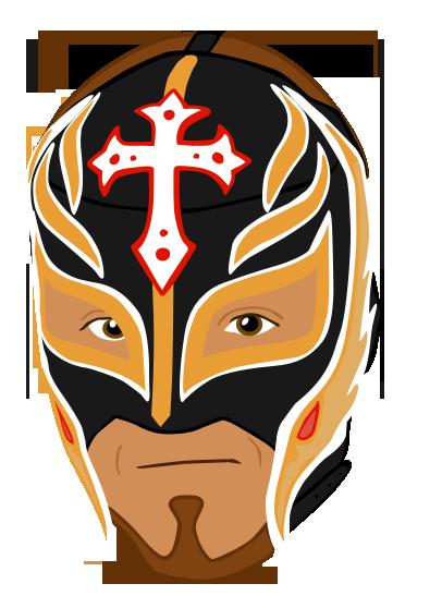Rey Mysterio Vector by abiogenic on DeviantArt