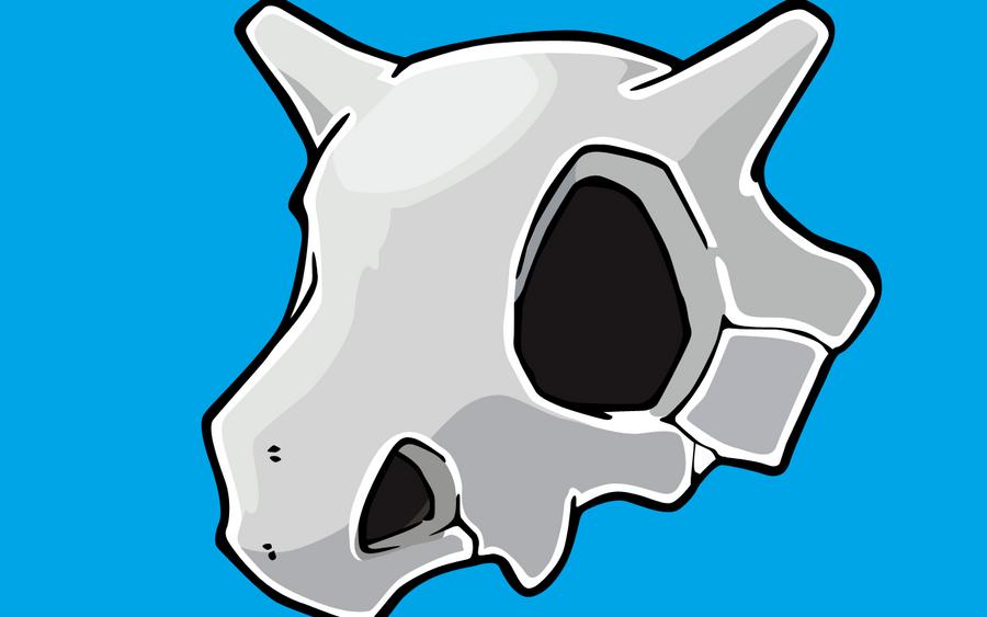 Cubone Skull Vector Wallpaper by abiogenic on DeviantArt
