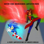 Sonic the Hedgehog Adventures cover