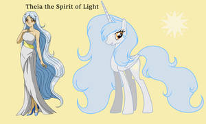 Theia the Spirit of Light