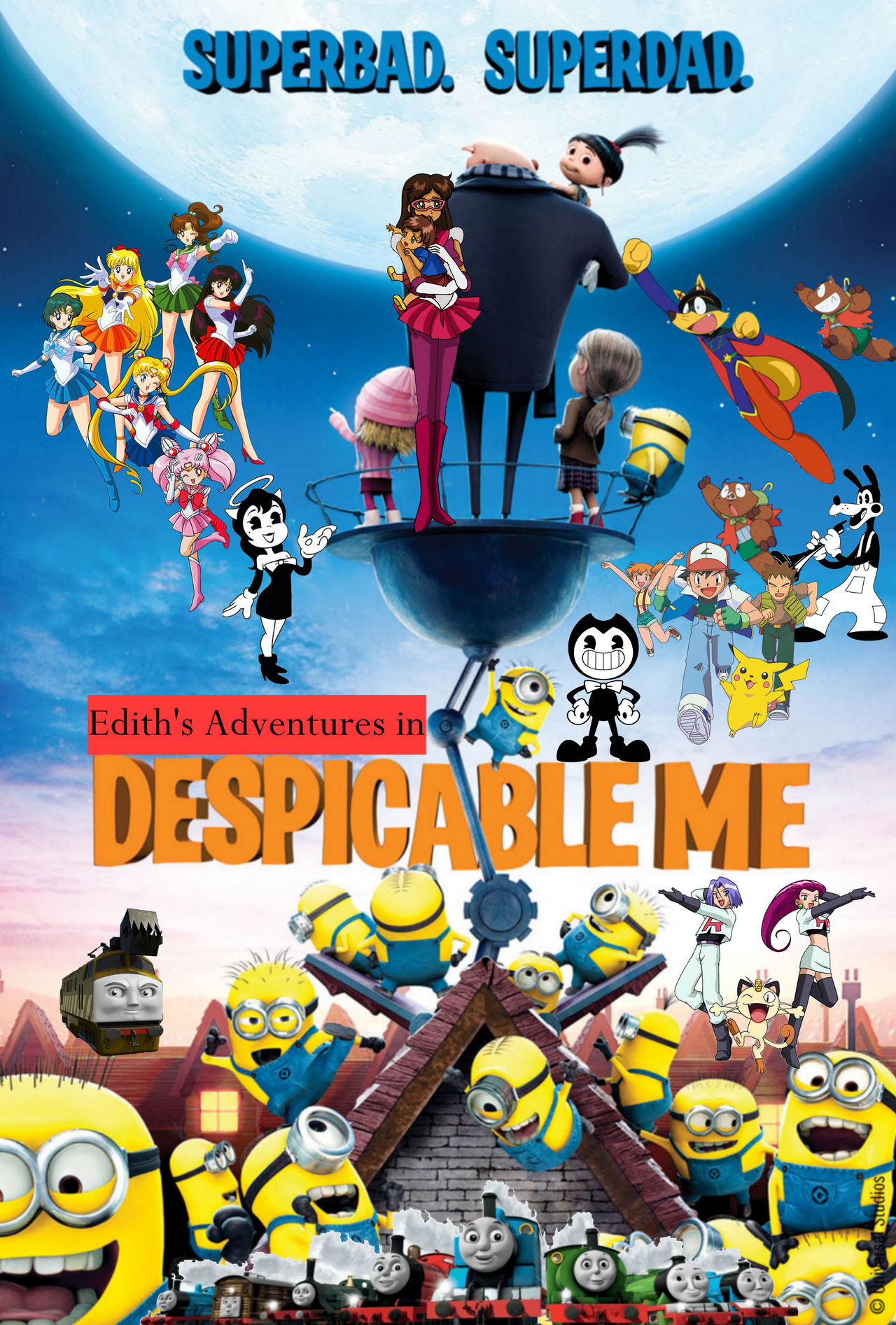 Edith's Adventures in Despicable Me