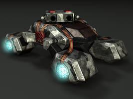 Tiberian Dawn Stealth Tank 01 by Richbk