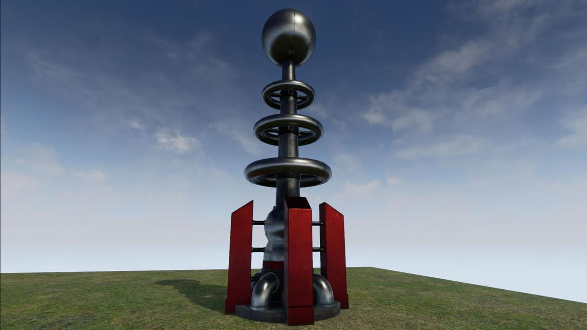 Pubg By Sodano On Deviantart: Soviet Tesla Coil By Richbk On DeviantArt