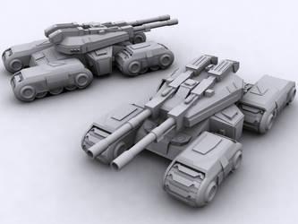 CnC 3 Mammoth Tank by Richbk