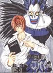 Old Work: Death Note fan art (2008)