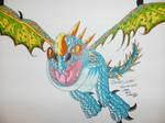 How to Train Your Dragon fan art, Stormfly