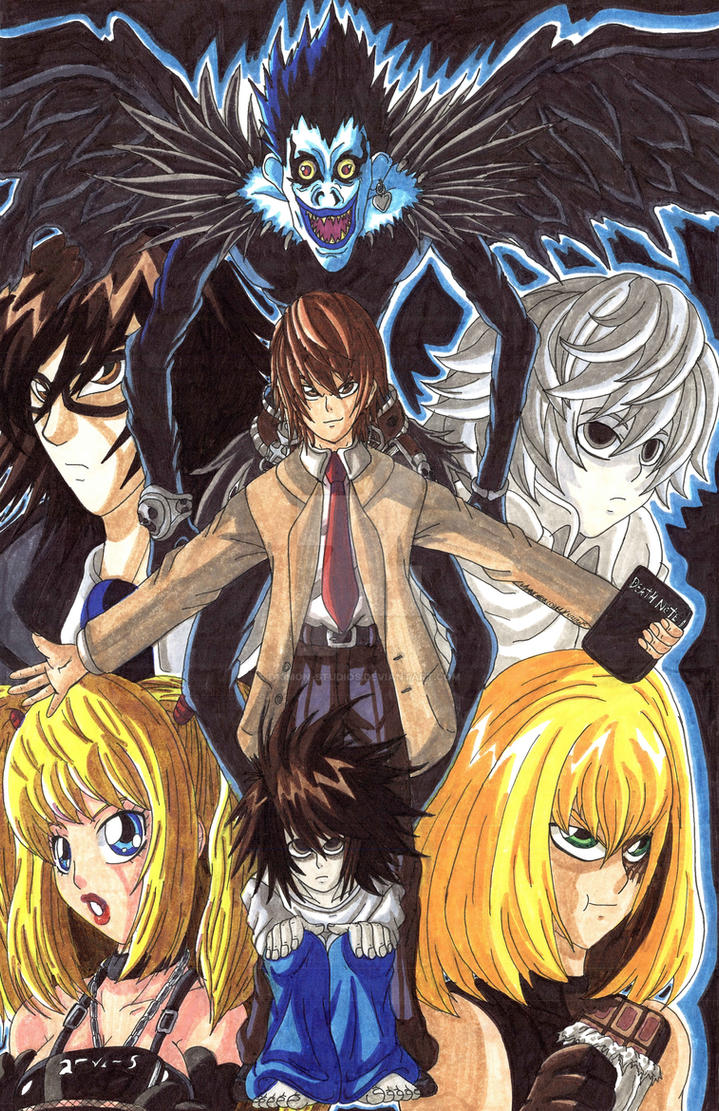 Death Note: How do you want to die? by d13mon-studios