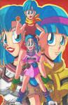 Bulma: The Dragon Ball Queen!