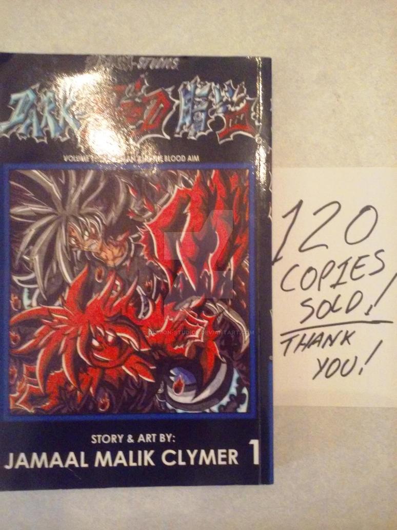 D13MON-Studios: Dark-Blood vol. 1 sold 120 COPIES! by d13mon-studios